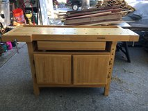 Wood workers maple bench in Fairfield, California