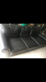 Real leather Couch and loveseat in Kingwood, Texas