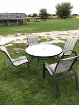 Patio table/chair set in Aurora, Illinois
