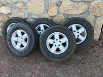 Jeep Wrangler Tires (Complete) in Fort Bliss, Texas