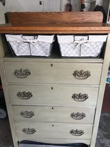 Painted vintage dresser in Elgin, Illinois