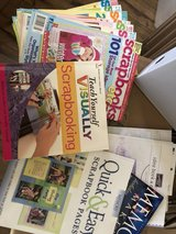 lot of scrapbooking books & magazines in Byron, Georgia
