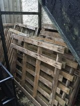 Pallets in Lakenheath, UK