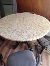 Kitchen Table and 4 Swivel Chairs in Naperville, Illinois
