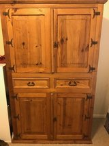 Armoire - Natural Solid Wood / Rustic in The Woodlands, Texas