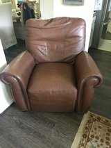 Leather recliner in The Woodlands, Texas