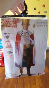 King Costume (Size small 6-7) in Orland Park, Illinois