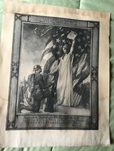 WWI Print in Lockport, Illinois