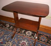 Vintage side table in Aurora, Illinois
