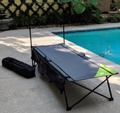 (2)- Ozark Trail Instant Cots with Rack/Storage in Houston, Texas