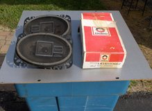 "PAIR OF NEW DELCO 4 X 6 "" SPEAKERS in Aurora, Illinois"