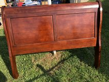 Full Sleight Bed Cherry Solid Wood Make Right Offer in Fort Knox, Kentucky