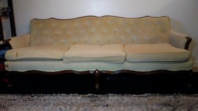 Antique 3 seat sofa in Fort Campbell, Kentucky