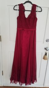 home coming or prom dress( berry) in Warner Robins, Georgia