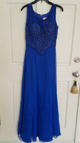 home coming or pron dress(royal) in Warner Robins, Georgia