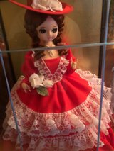 Red all cloth Doll in Okinawa, Japan