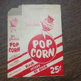 dee lish old classic never used popcorn boxes 5 of them in Orland Park, Illinois