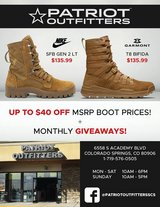 Tactical Gear at unbeatable prices! in Fort Carson, Colorado