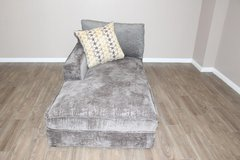Style line Chaise in Smoky Gray in Kingwood, Texas