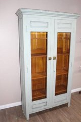 Vintage Turquoise / Blue / cupboard / china cabinet in Kingwood, Texas