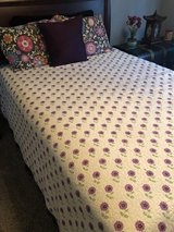 Comforter, shams & bed skirt in Byron, Georgia