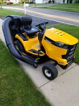 """2016 Cubcadet XT1  with bagger attachment.  18hp Kohler Engine.  40 hours of use.  42"""" Deck in Glendale Heights, Illinois"""