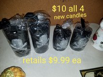4 skull black candles in Fairfield, California