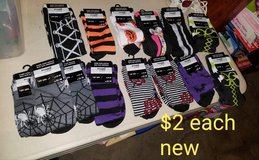 Halloween knee high socks in Fairfield, California
