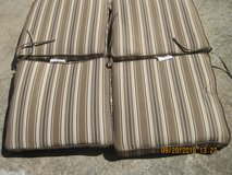 CHAIR CUSHIONS 4 EACH in Clarksville, Tennessee
