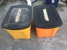 2 plastic container in Okinawa, Japan