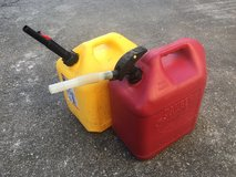 2x 5gallon gasoline and diesel container in Okinawa, Japan