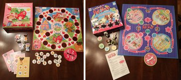 Strawberryland & Littlest Pet Shop Board Games in Bolingbrook, Illinois