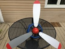 Airplane propeller ceiling fan in Glendale Heights, Illinois