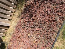 FREE LAVA ROCK - Tradional dark red/burgundy color in Orland Park, Illinois