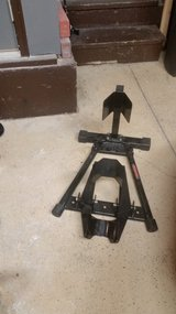 Trackside motorcycle stand-used in Aurora, Illinois