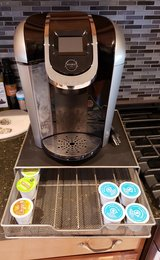 Keurig 2.0 and pod tray in Plainfield, Illinois