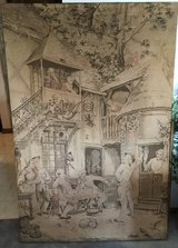 antique tapestry, very old in Brookfield, Wisconsin
