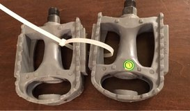 Gray Bike Pedals in Naperville, Illinois
