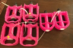 Pink Bike Pedals in Naperville, Illinois