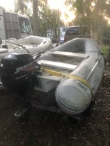 Inflatable rib dingy boat, caribe 9.5' in Beaufort, South Carolina