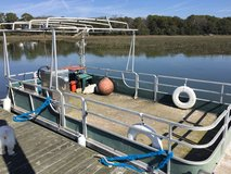 Pontoon boat by Kyot 24' in Beaufort, South Carolina