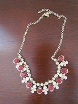 Burgundy & Pink Necklace in Naperville, Illinois
