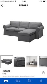 Almost new Ikea couch in Fort Benning, Georgia