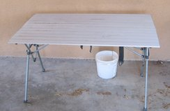 Roll up Aluminum Camping Table in Alamogordo, New Mexico