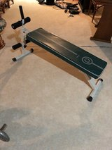 Sit-up and weight bench in Chicago, Illinois