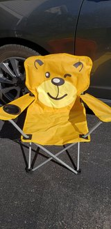 Kids Folding Camping Chair in Yorkville, Illinois