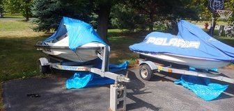 2 Jet skis with trailers in Fort Drum, New York