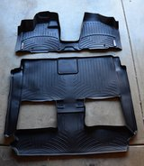 New Weathertech mats Chrysler Town country complete set in Naperville, Illinois