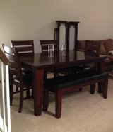 UPDATED Dining Table (4 Chairs, Bench Included) in 29 Palms, California
