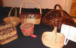 Assorted baskets in Fort Knox, Kentucky